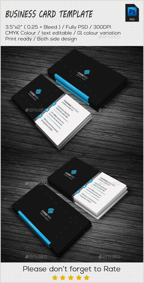 Cards Business Clean Business Card