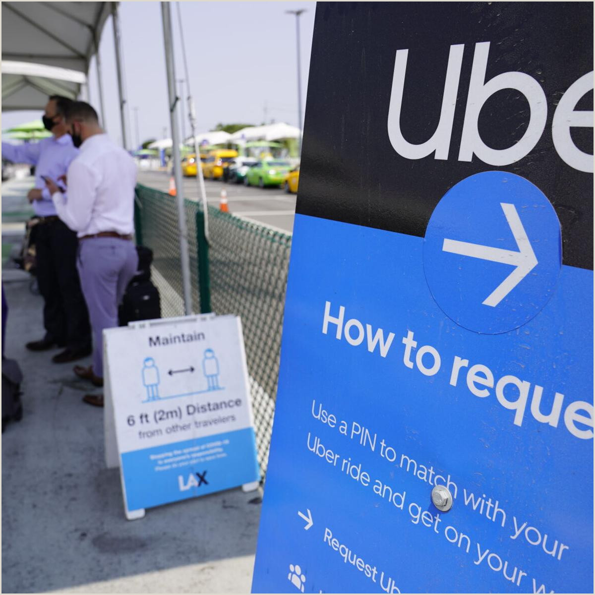 Cheap Personalized Business Cards Uber Lyft Spend Big Win In California Vote About Drivers