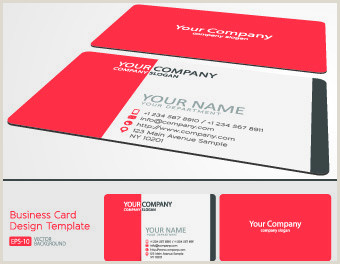 Classic Business Card Design Classic Business Card Vector Free Vector 33 587