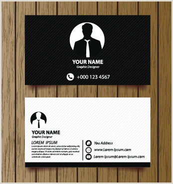 Classic Business Card Design Classic Style Business Card Free Vector 42 566
