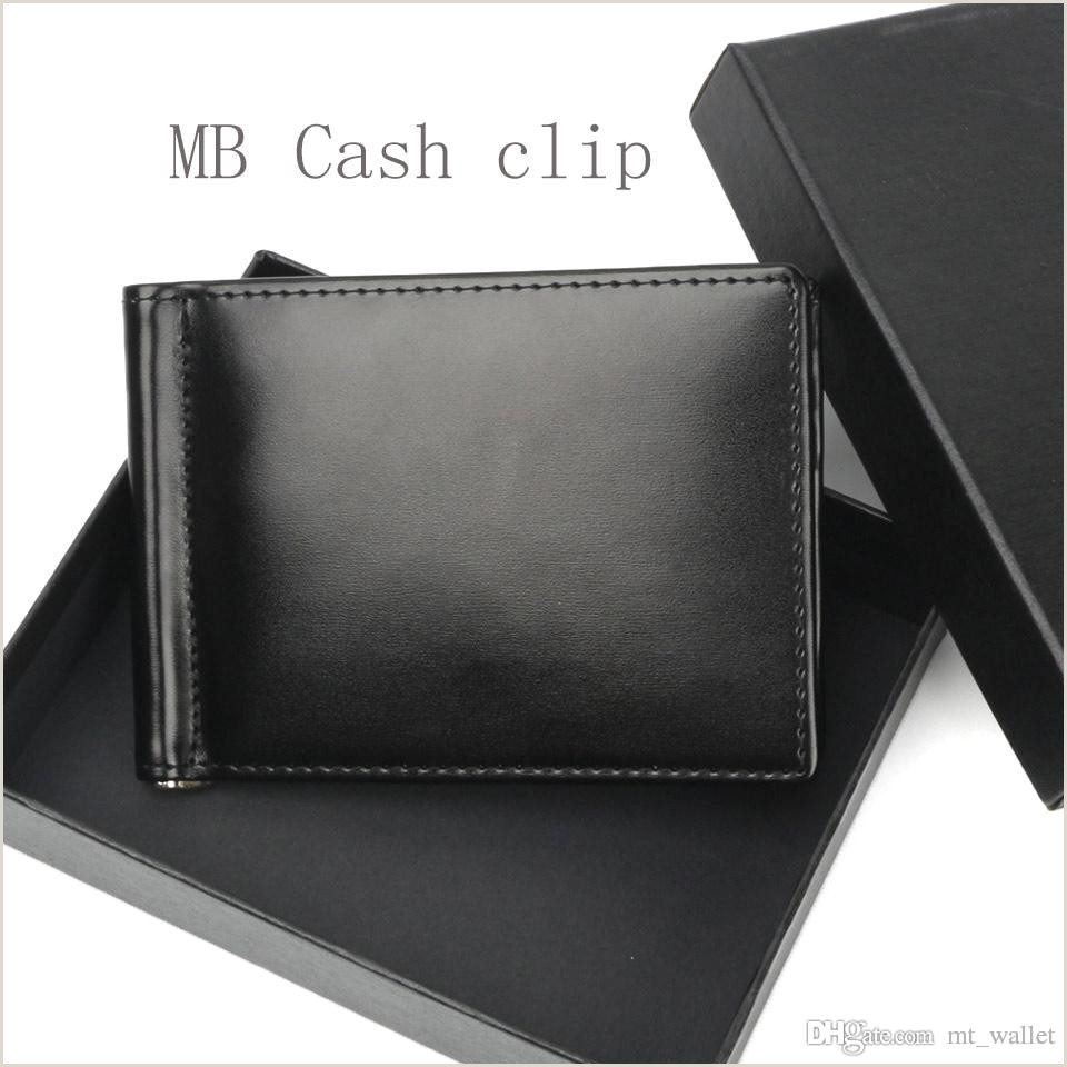 Classic Business Card Design Luxury Popular Classic Fashion Business Mb Wallet Hot Leather Men Wallet Short Genuine Leather Mt Wallet Card Holder Cash Clip Custom Leather Wallets