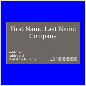 Classic Business Card Free Classic Business Card Printable Template