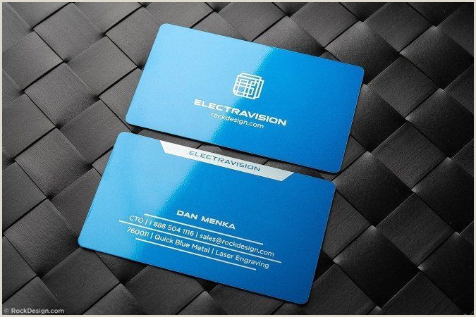 Classic Business Card Rockdesign Page