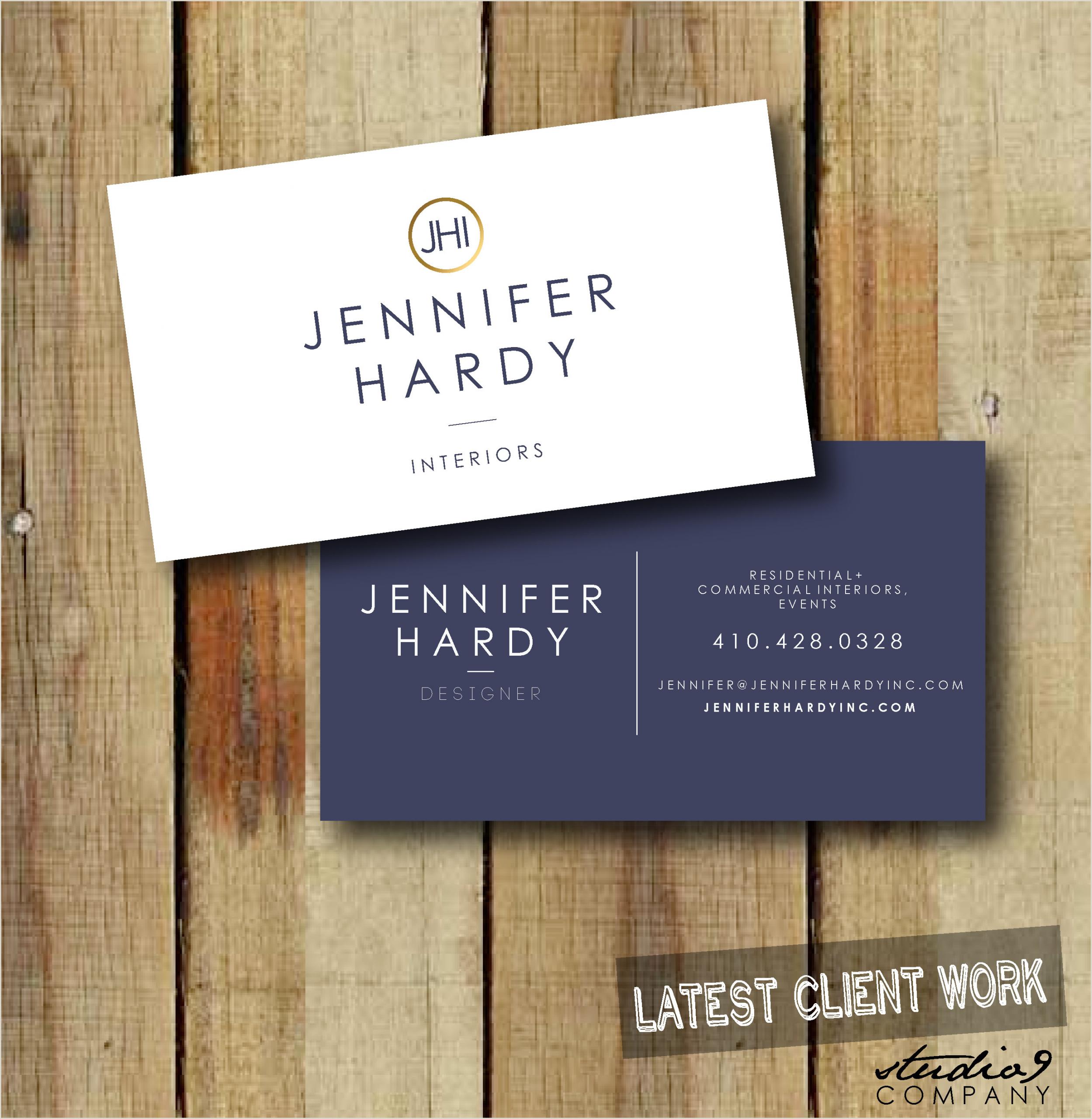 Classic Business Cards Design Pin By Studio 9 Co Jordan Seibert Wa On Studio 9 Co