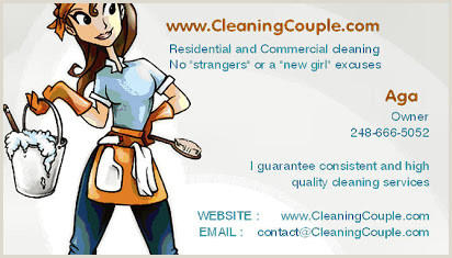 Cleaning Business Cards Templates Free Free Sample Business Cards Cleaning Services