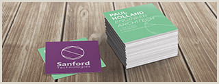 Colored Perforated Business Card Stock Square Business Cards