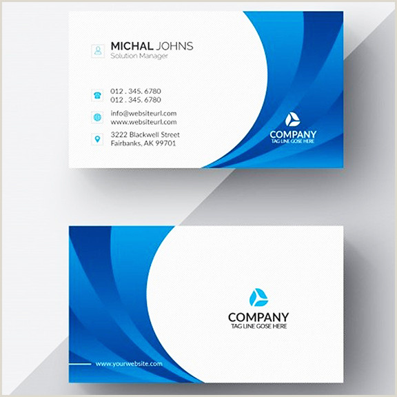 Company Card Design Customized Visiting Cards