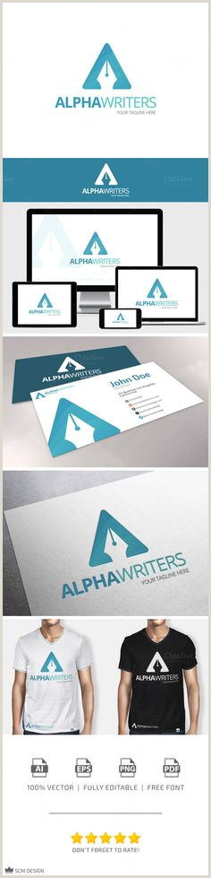 Contact Icons For Business Cards 60 Letter A Logo Designs Ideas Templates For Inspiration