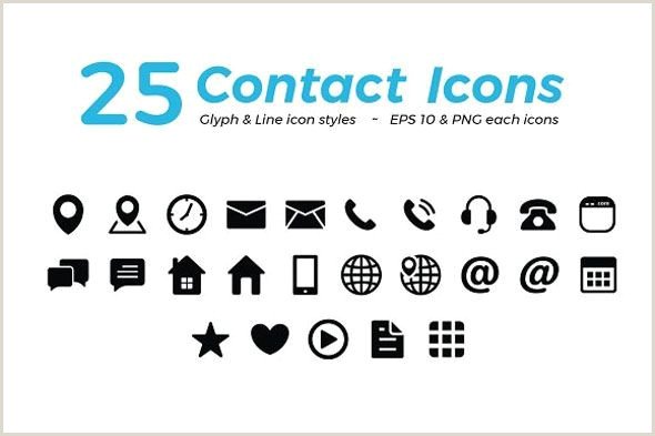 Contact Icons For Business Cards Contact Card Icon At Vectorified