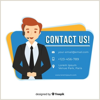 Contact Icons For Business Cards Contact