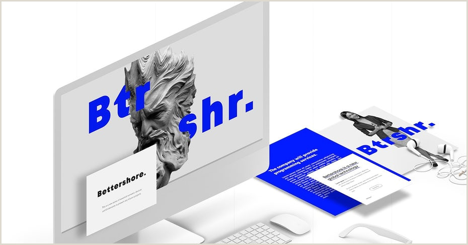 Contemporary Business Cards 9 Creative Font Trends For 2019 99designs