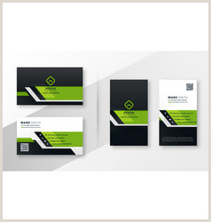 Contemporary Business Cards Modern Business Card Vector Over 470 000