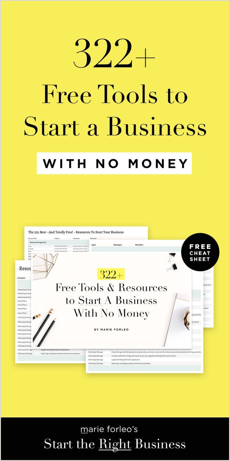 Cool Business To Start Discover 322 Free Tools To Start Your Dream Business For