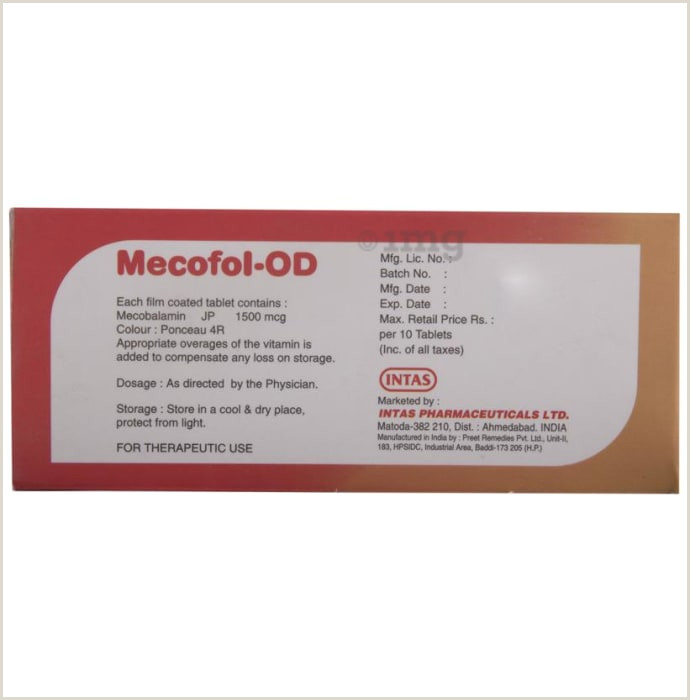 Cool Name Card Mecofol Od Tablet