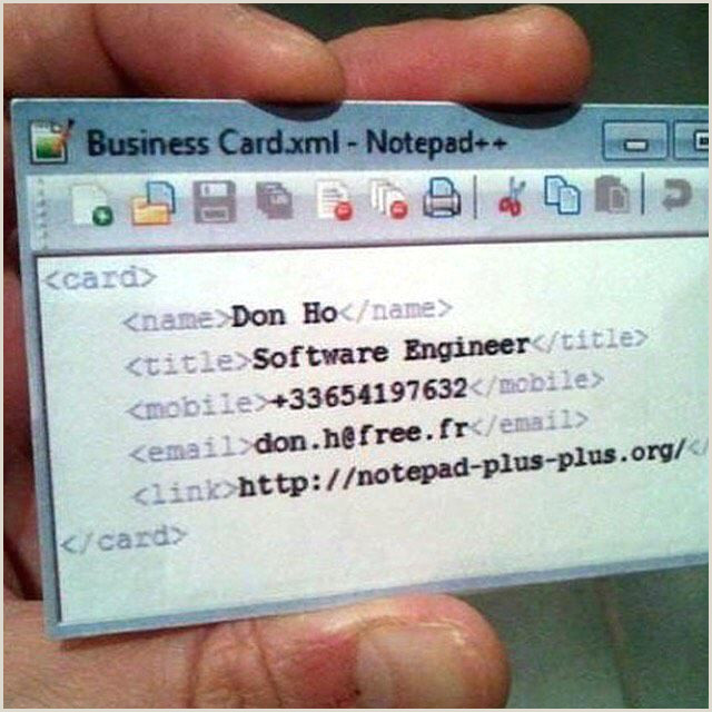 Cool Name Card Want This Coolest Business Card Ever 👍 Devrant