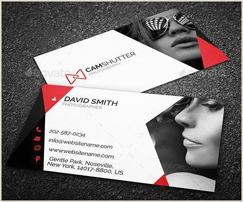 Cool Photographer Business Cards Best Graphy Business Card Templates Example
