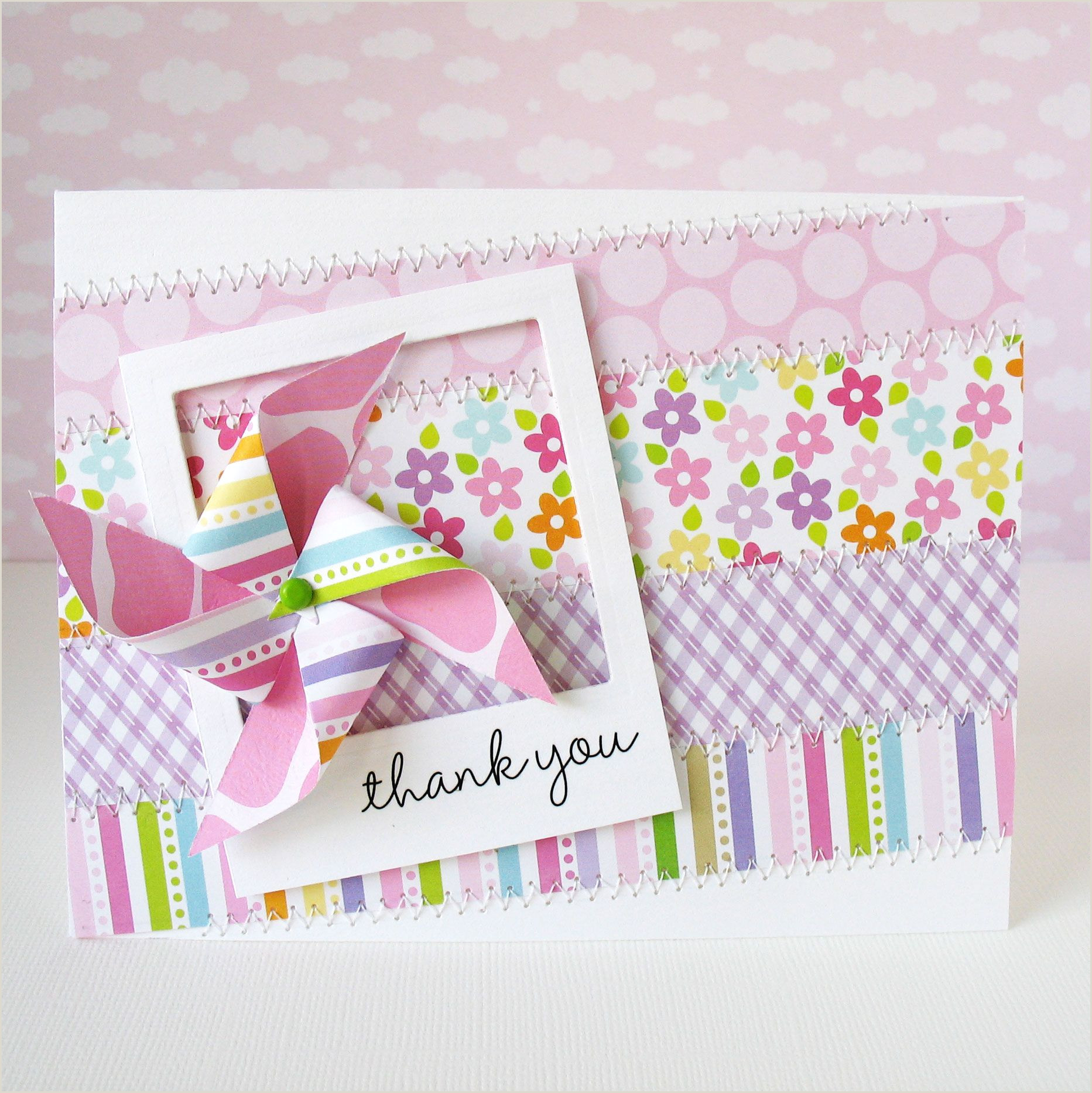 Cool Thank You Card Ideas Thank You Bella Blvd Scrapbook