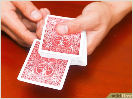 Cool Things To Do With Cards 5 Ways To Do A Cool Card Trick Wikihow