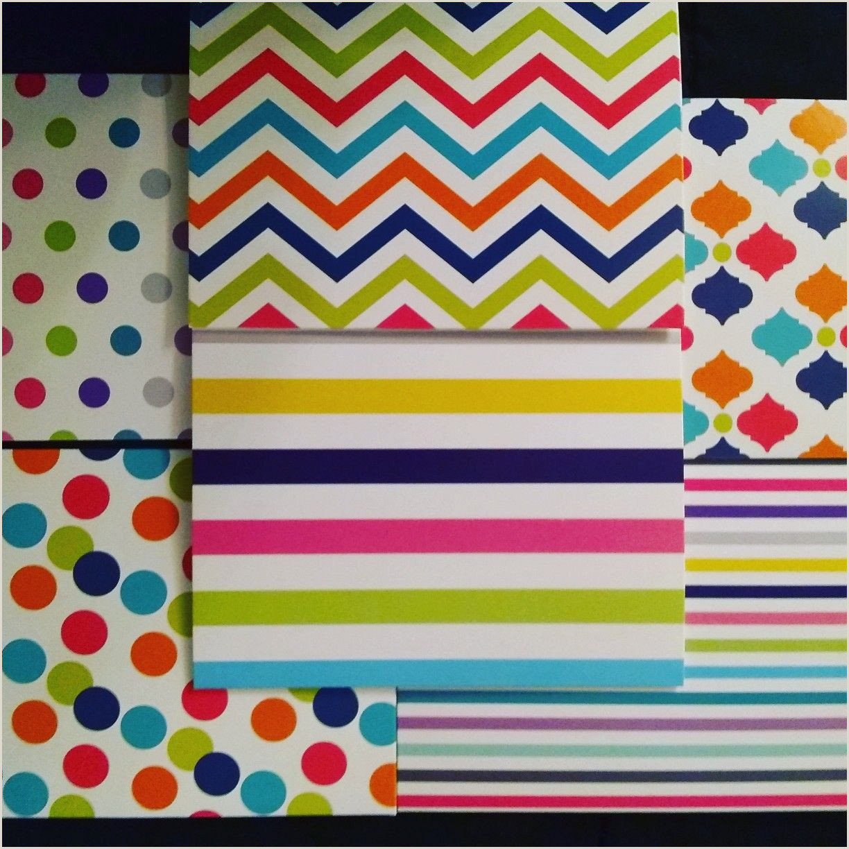Cool Things To Do With Cards The Box Contains 6 Different Colorful Designed Cards With