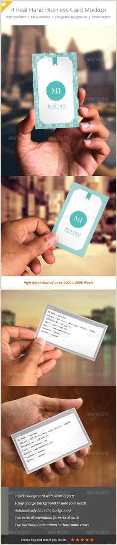 Cool Things To Put On The Back Of Your Business Card 20 Business Card Mockups Ideas