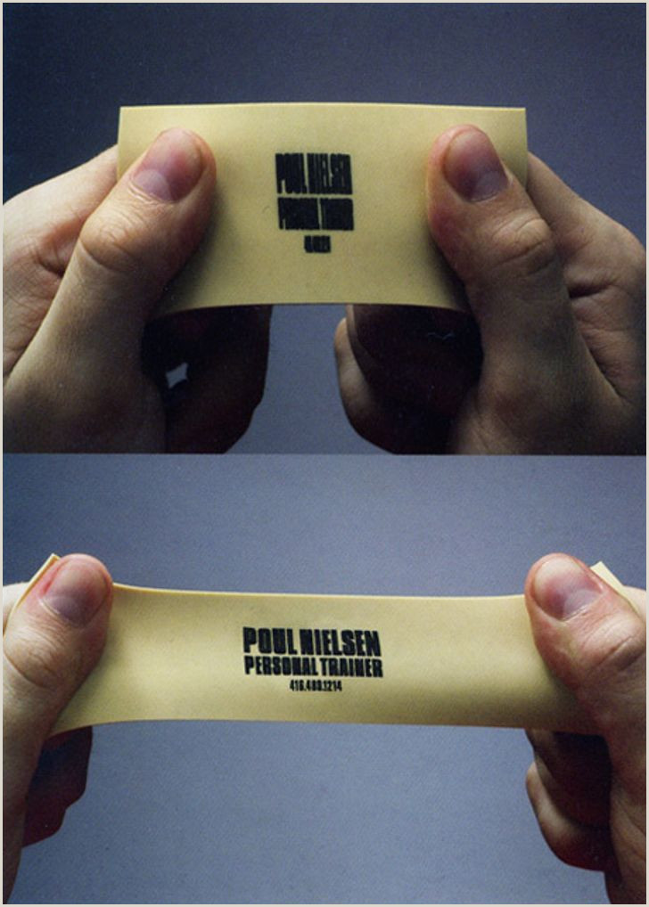 Cool Unique Business Cards 50 Extraordinary Business Card Designs That You Ll Never Be