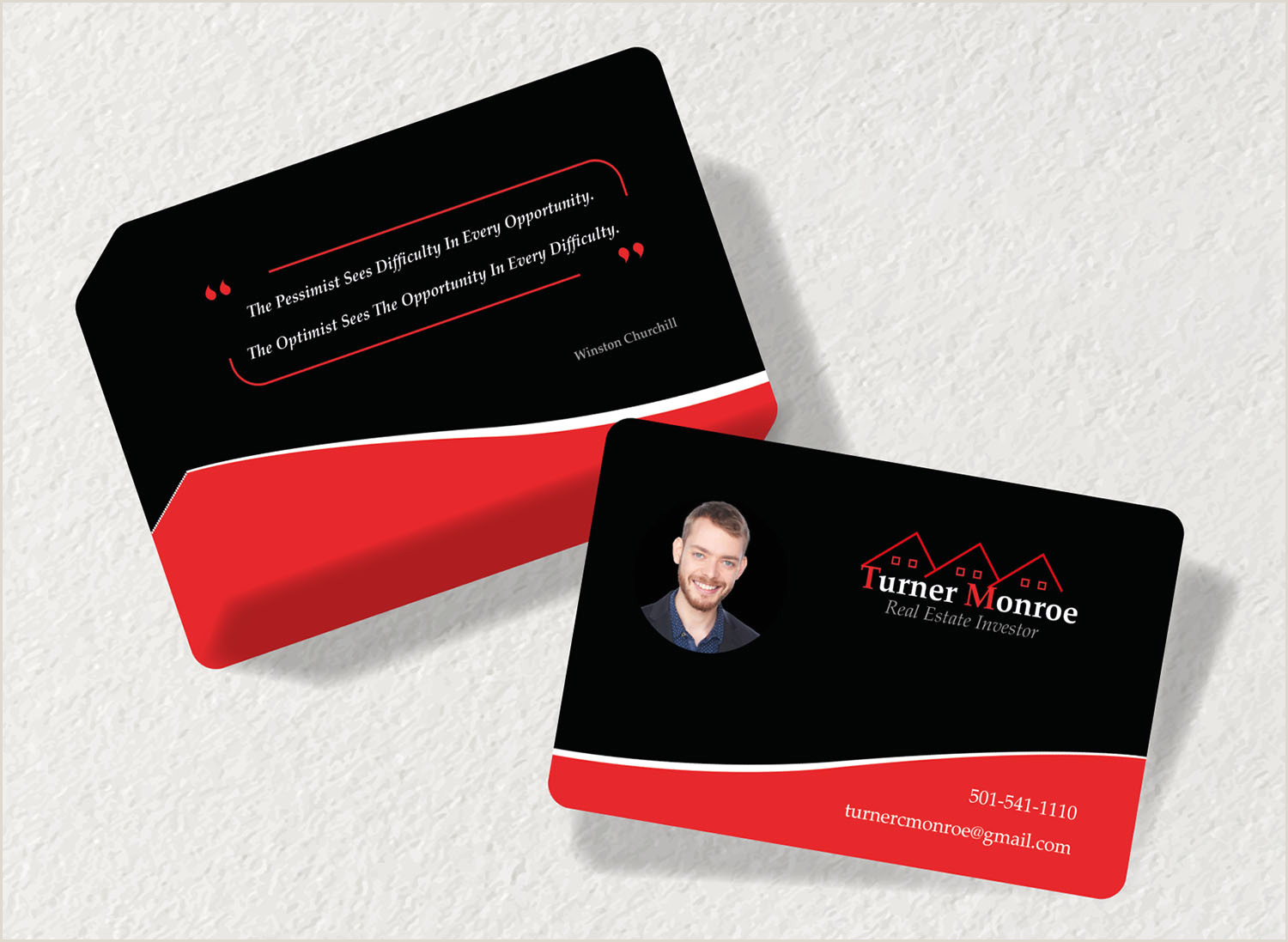 Cool Unique Business Cards For Realtores Modern Masculine Real Estate Business Card Design For