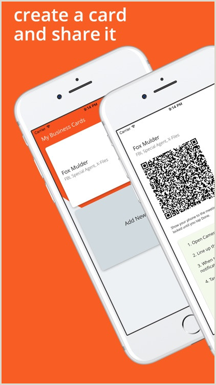Create A Business Card Virtual Business Cards By Astrails