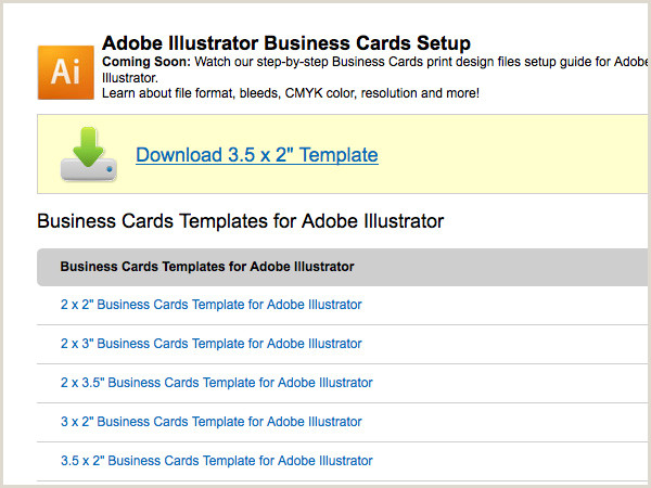 Creating Business Cards In Illustrator Create A Business Card In Illustrator And Print It With