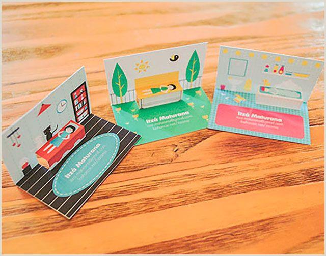 Creative Artist Business Cards Beautiful Pop Up Business Cards 255 Creative & Unique