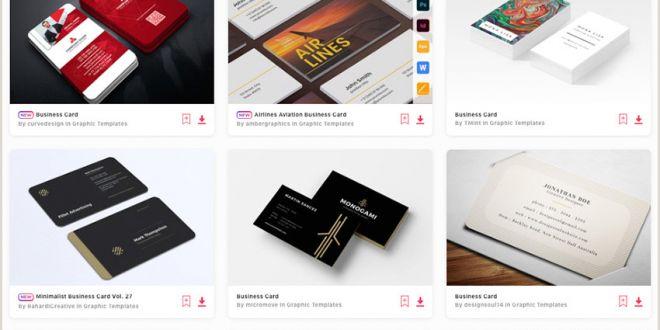 Creative Business Card 20 Creative Business Card Templates Colorful Unique Designs