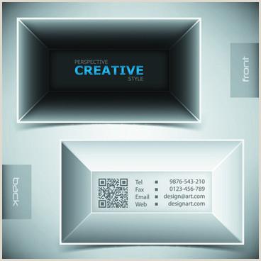 Creative Business Card Design Free Vector Creative Business Card Design Free Vector