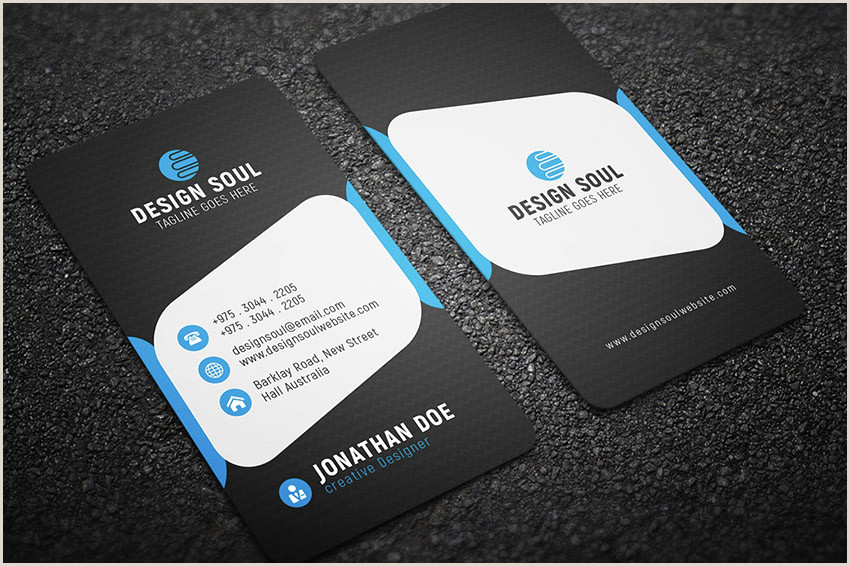 Creative Business Cards Templates 20 Best Business Card Design Templates Free Pro Downloads