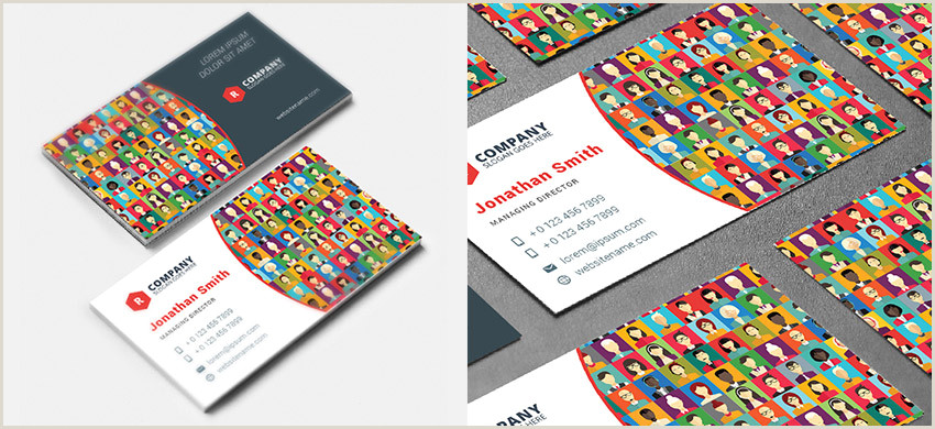 Creative Business Cards Templates 20 Creative Business Card Templates Colorful Unique Designs