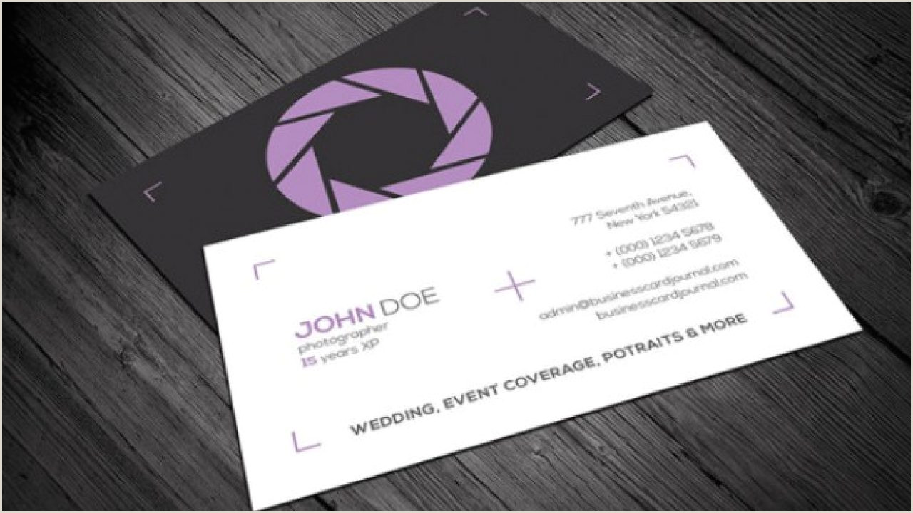 Creative Business Cards Templates 20 Professional Business Card Design Templates For Free