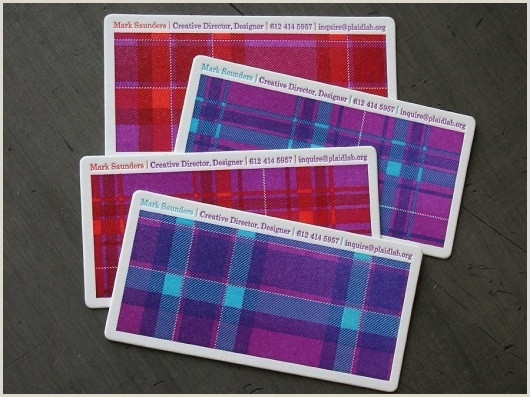 Creative Card Designs Creative Plaid Business Card Lab And Studio Image Ideas