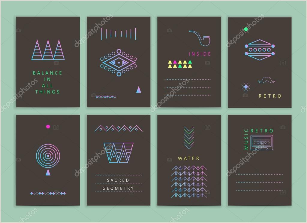 Creative Card Designs Modern Creative Cards — Stock Vector © Soykinakv