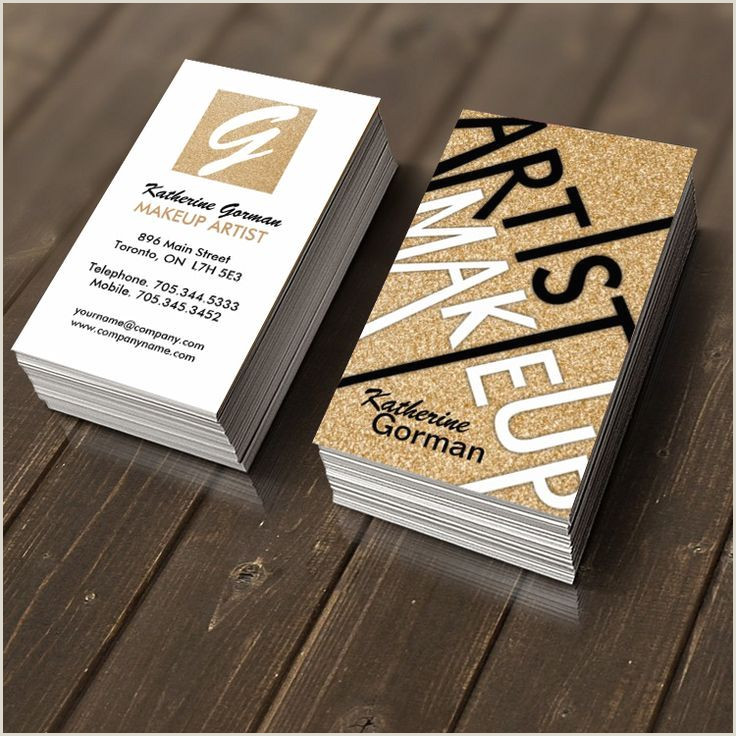 Creative Makeup Business Cards Pin By Beth Wade Design On Wd Biz Cards