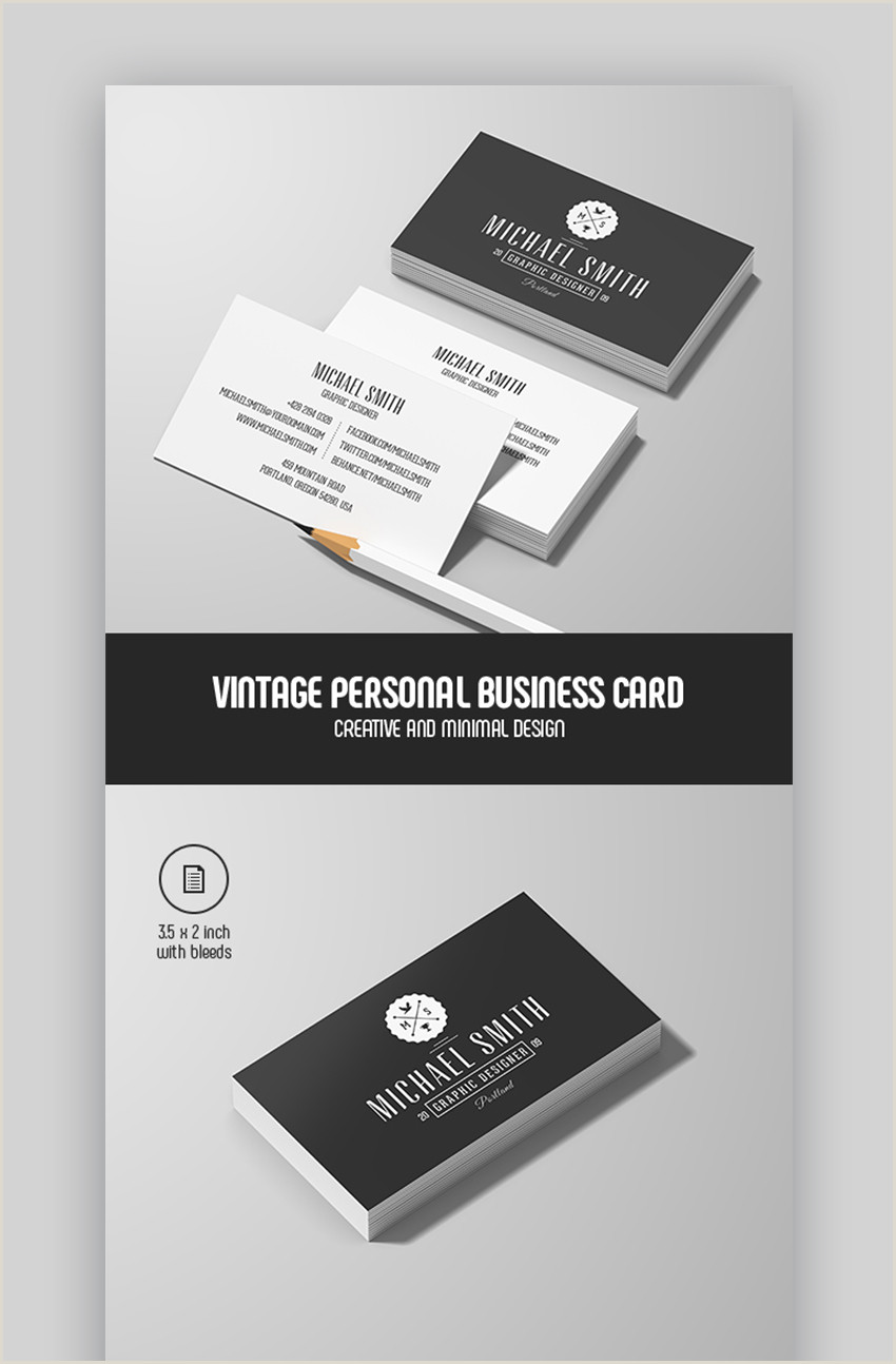 Creative Personal Business Cards 25 Best Personal Business Cards Designed For Better