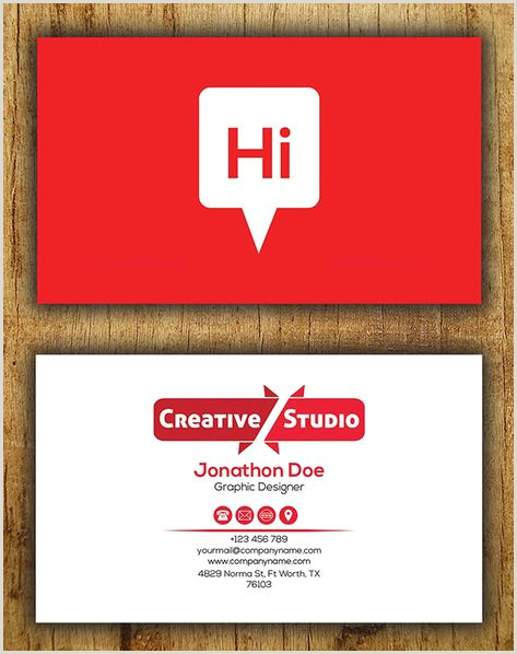 Creative Personal Business Cards Perfect Creative Flyer Templates Graphics Design