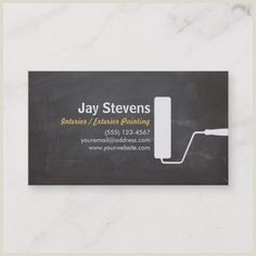 Creative Unique Painting Business Cards 200 Painter Business Cards Ideas In 2020