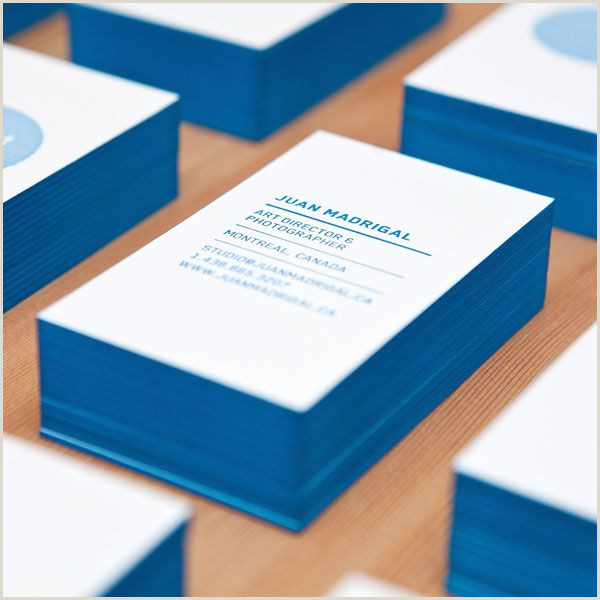 Creative Unique Painting Business Cards Business Cards Cyan
