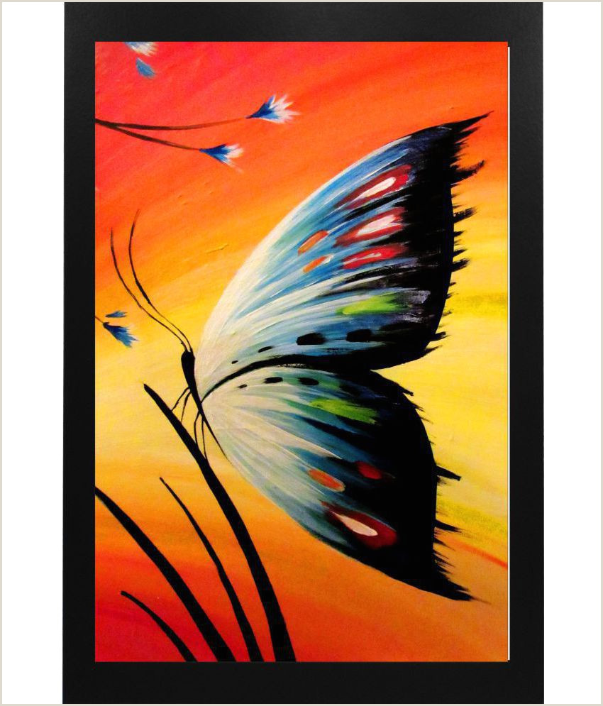 Creative Unique Painting Business Cards Narayani Modern Art Painting Paper Painting With Frame