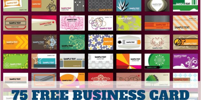 Credit Card Style Business Cards 75 Free Business Card Templates that are Stunning Beautiful