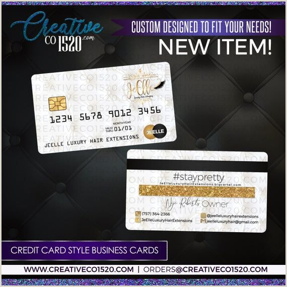 Credit Card Style Business Cards Credit Card Style Business Cards Credit Card Business Card