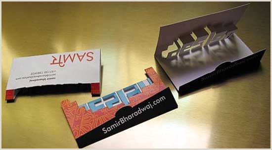 Custom Pop Up Business Cards Pop Up Business Cards 38 Unique Examples