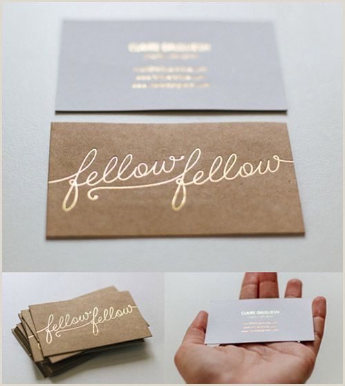 Cute Business Card Designs A Collection Elegant Business Cards With Gold Designs