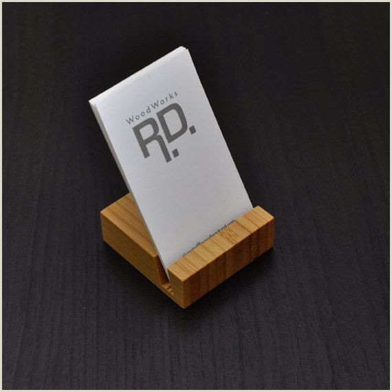 Cute Business Card Stand Business Card Holder Vertical Business Card By Woodworksrd