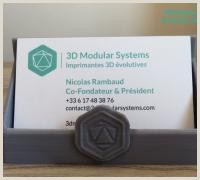 """Cute Business Card Stand Business Card Stand"""" 3d Models To Print Yeggi"""