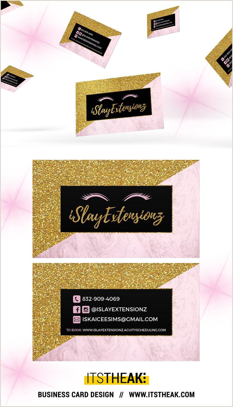 Cute Business Card Stand Business Cards Premium Premade Designs Itstheak