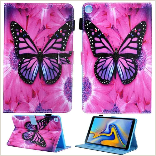 """Cute Business Card Stand Tablet Stand Leather Case Cover For Samsung Galaxy Tab A 8"""" Inch 2019 T290 T295 Vova"""